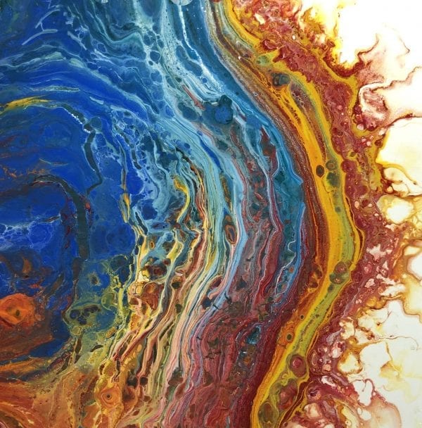Desert Hippie Arts Acrylic Paint Pouring