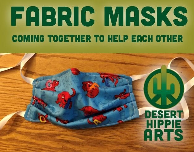 Desert Hippie Arts Fabric Masks 1
