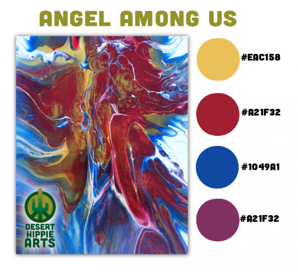 Angel Among Us Color Scheme Desert Hippie Arts