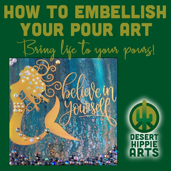 How to embellish your failed pours