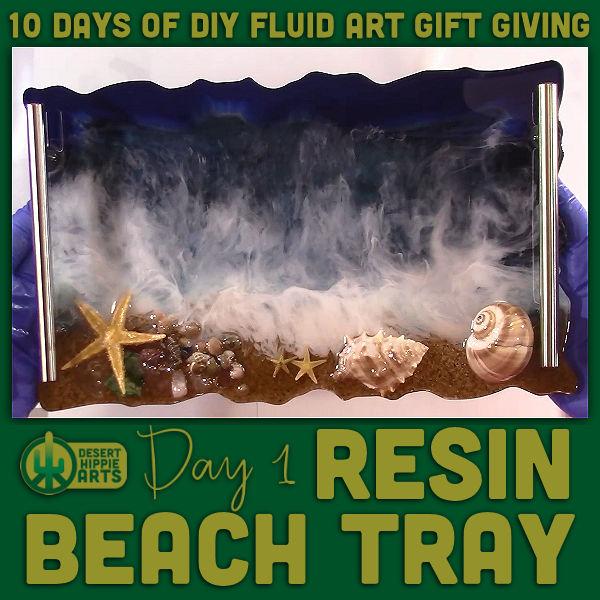 10 Days of DIY Fluid Art Gift Giving