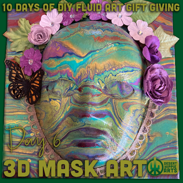 Day 6 3D Mask Art